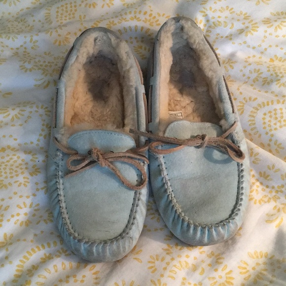 f4a73ced90a Teal UGG Moccasins